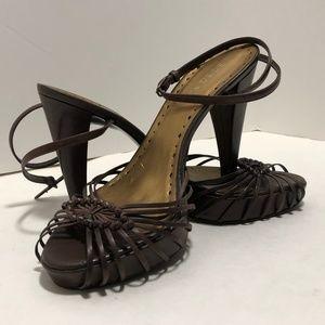 BCBGirls sexy ankle strap heels.